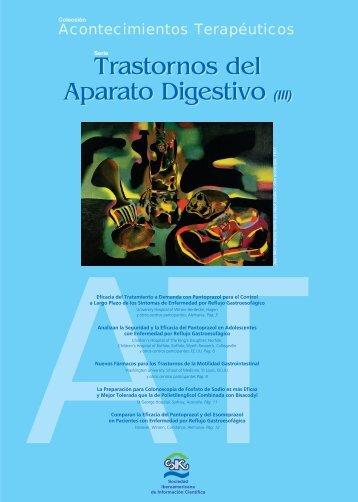 Trastornos del Aparato Digestivo (III) Trastornos del ... - Gador SA