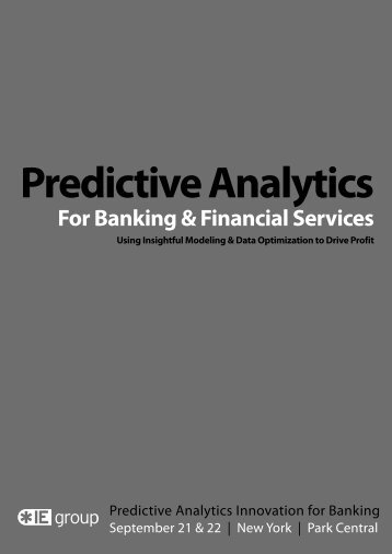 Event: Predictive Analytics in Banking - Fractal Analytics