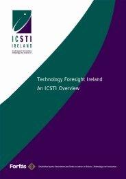Technology Foresight Ireland - an ICSTI Overview - Advisory ...