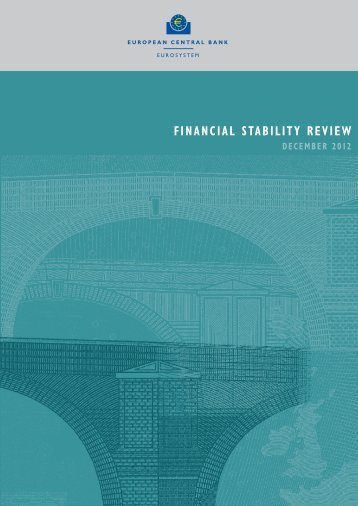 Financial Stability Review, December 2012 - Financial Risk and ...
