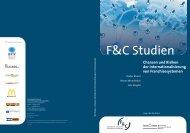 Chancen und Risiken der Internationalisierung von ... - F&C