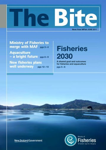 Download The Bite - June 2011 - Ministry of Fisheries