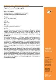 Programmablauf Moehnesee 2008 - Forum Unna