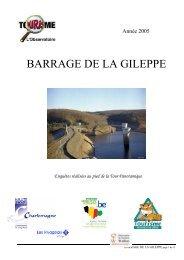 La Gileppe - Fédération du Tourisme de la Province de Liège
