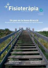 Noticiari 73 en format PDF - Col·legi de Fisioterapeutes de Catalunya