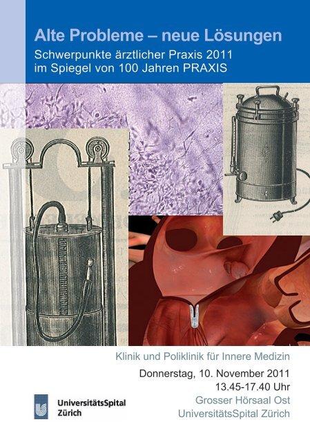 Programm - Fortbildung - UniversitätsSpital Zürich