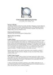 Global Summit 2008 Meeting Meetings - Global Alliance of Rapid ...