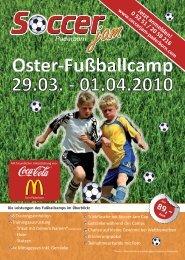 Oster-Fußballcamp 29.03. - 01.04.2010 - FLVW Kreis Paderborn