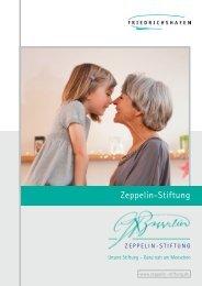 Broschüre Zeppelin-Stiftung.pdf - Friedrichshafen