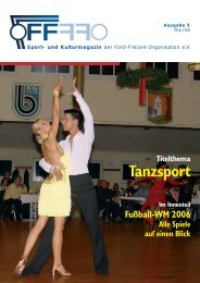 Ausgabe 5, 05/ 2006 - Ford-Segel-Club Köln