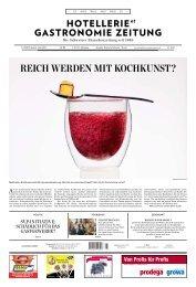 REIch WERdEn MIt KochKunst? - Hotellerie et Gastronomie Verlag