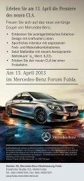 Veranstaltungsflyer zum Download - Mercedes-Benz Niederlassung ...