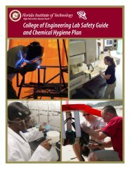 College of Engineering Lab Safety Guide and Chemical Hygiene Plan