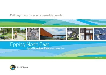 Epping North East Plan - Growth Areas Authority