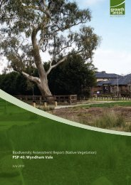 Biodiversity Assessment Report (Native Vegetation) - Growth Areas ...