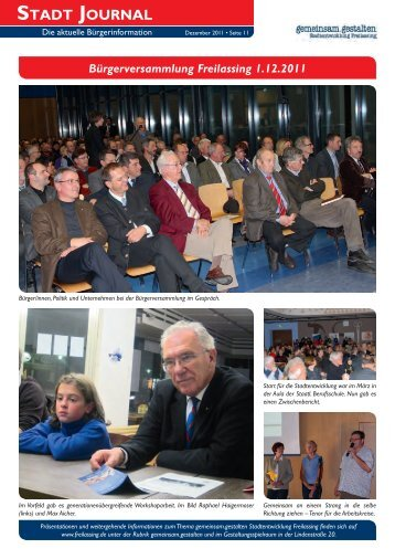Zusammenschau der Präsentationen des ... - Stadt Freilassing