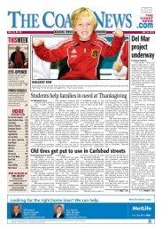 The Coast News, Nov. 25, 2011