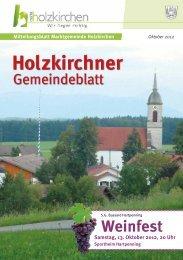 Oktober 2012 - Holzkirchen