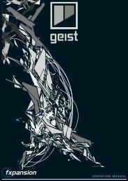 Geist Operation Manual - FXpansion1.com