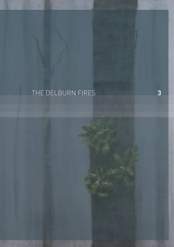 3 THE DELBURN FIRES - 2009 Victorian Bushfires Royal Commission