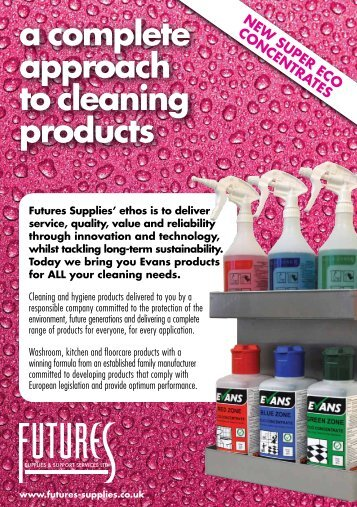 Evans brochure - Futures Supplies & Support Services