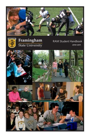 RAM Student Handbook - Framingham State University