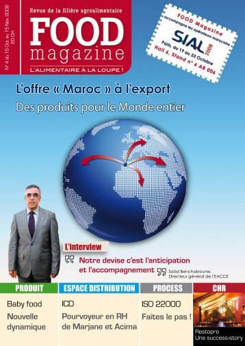 L'offre « Maroc » à l'export Des produits pour le ... - FOOD MAGAZINE