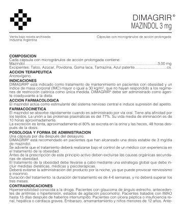 DIMAGRIR prospecto 8/05 - Gador SA