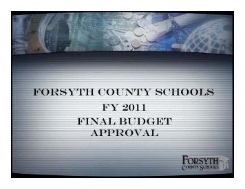 HERE - Forsyth County Schools