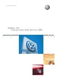 Angebot Autohaus W. Manikowski Teil 2 - Flying Pizza