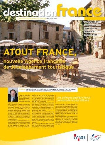 ATOUT FRANCE, - Maison de la France