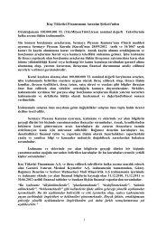 Koçfinans tahvili Garanti'de - Garanti Bankası