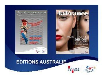 EDITIONS AUSTRALIE - Maison de la France