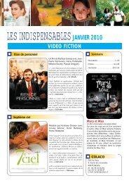 LES INDISPENSABLES JANVIER 2010 - Colaco