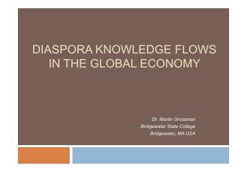 diaspora knowledge flows in the global economy - CASA