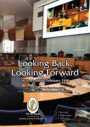Looking Back, Looking Forward! - FW de Klerk Foundation