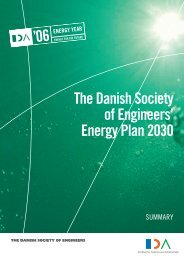 The Danish Society of Engineers' Energy Plan 2030 - Frit Norden