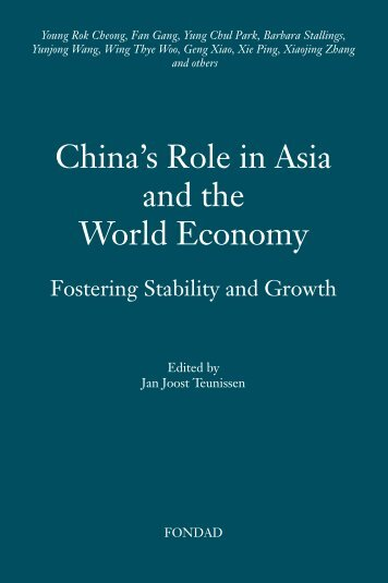 China's Role in Asia and the World Economy - FONDAD Forum on ...