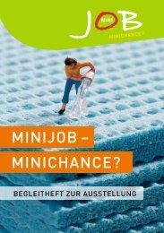 MinijoB – MinichAnce? - Frauen-Forum Münster