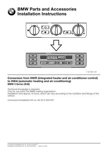 Bmw e46 lumbar support retrofit diy conversion from ihkr to ihka e46all 4421 bmw retrofit guides swarovskicordoba Choice Image