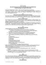 Satzung über die Erhebung wiederkehrender ... - Friedrichroda