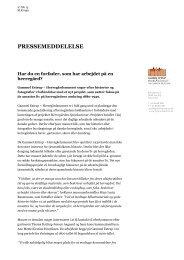 Pm efterlysning - Gammel Estrup