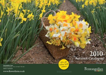 2010 Autumn Catalogue - Flowerfarm