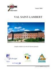 val saint-lambert - Fédération du Tourisme de la Province de Liège