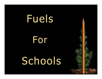 Darby, Montana - Fuels for Schools and Beyond
