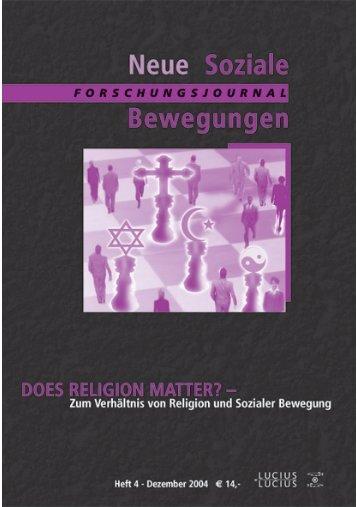 Vollversion (1.57 MB) - Forschungsjournal Soziale Bewegungen