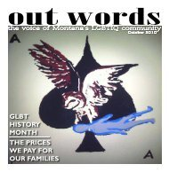 Out Words - The Western Montana Community Center