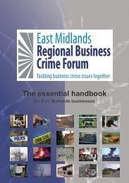 East Midlands Regional Business Crime Forum - Federation of ...