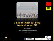 Cleantech in China - Flanders Smart Hub