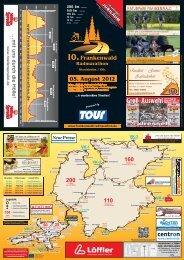 Ausschreibung - Frankenwald-Radmarathon, Stockheim